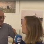 RTVNH tijden de open monumentendag 2016 in het monet atelier in Zaandam