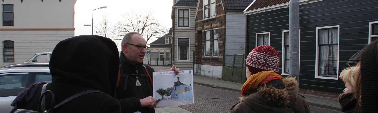 MonetSafari in Zaandam bij het blauwe huis